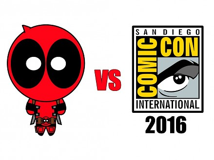 Deadpool na Comic-Con 2016