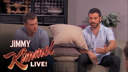 Matt Damon i Jimmy Kimmel na terapii dla par