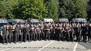 Policjanci z Opola dziękuję za ŚDM