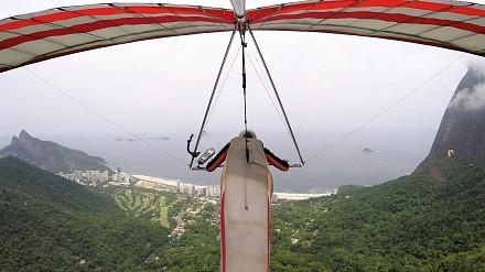 Lotnią nad Rio de Janeiro
