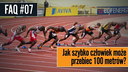 Jak szybko człowiek może przebiec 100 metrów?