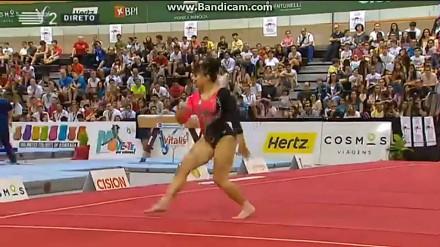 Meksykańska gimnastyczka z krągłościami