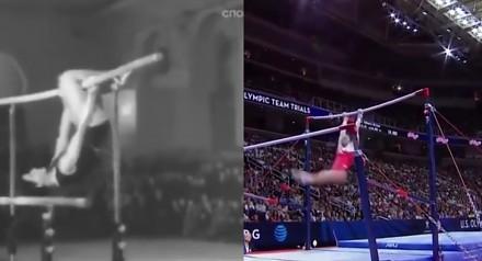 Porównanie gimnastyki - jak wygląda dziś, a jak pół wieku temu?