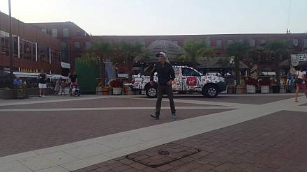 Łódzki street dancer