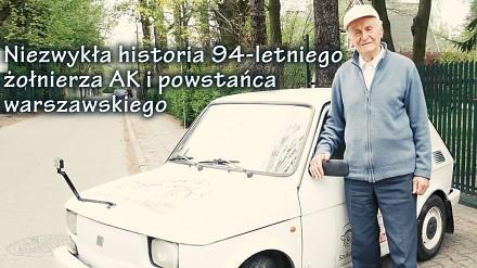Żołnierz AK, Antoni Huczyński vel Dziarski Dziadek w Maluchu - [Duży w Maluchu]