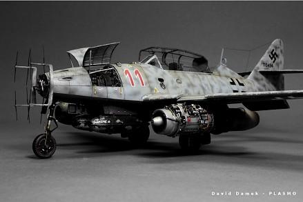 Budowa Messerschmitta Me-262 w skali 1:48