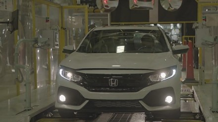 Honda Civic 2017 - tak wygląda proces produkcji