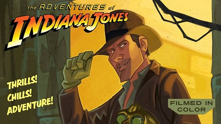 Animowany Indiana Jones