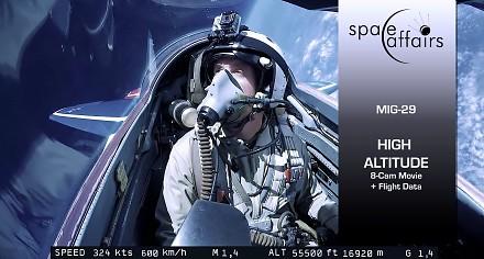 Podróż do stratosfery MIG-29