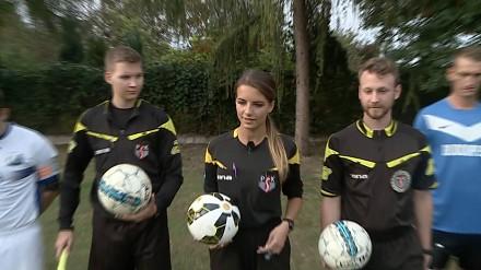 Reportaż o najładniejszej polskiej sędzi piłkarskiej