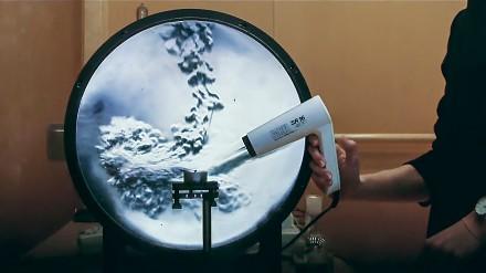 Eksperyment, który pozwala zobaczyć ruch powietrza