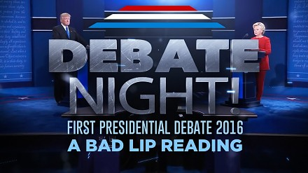Bad Lip Reading debaty prezydenckiej Clinton vs Trump