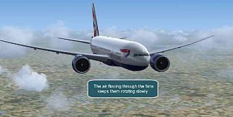 Jak daleko może szybować pasażerski Boeing 777 po utracie obydwu silników?