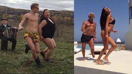 Bonia i Kuzmicz parodiują taniec popularnego celebryty