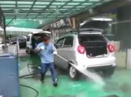Tak lepiej nie myj samochodu