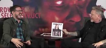 Reakcja Jamesa Hetfielda na celebrytów noszących koszulki Metallici