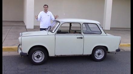 Trabant, okropny samochód stworzony przez komunistów?