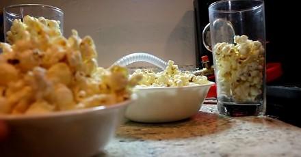 Popcorn w komorze próżniowej