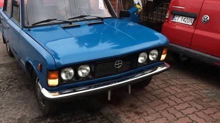 Odpalanie dużego Fiata po raz pierwszy po 28 latach