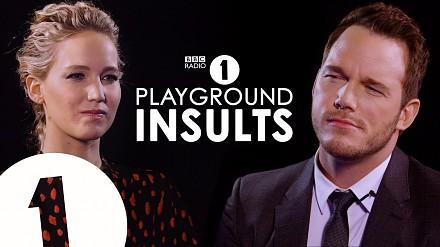 Jennifer Lawrence i Chris Pratt obrażają się nawzjem
