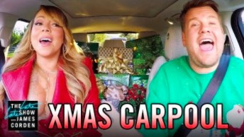"Gwiazdy śpiewają ""All I Want for Christmas"" w Carpool Karaoke"