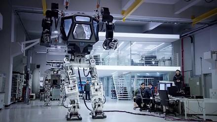 """""""METHOD-1"""" mech stworzony przez Korea Future Technology"""