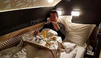 """Lot klasą """"Residence"""" w samolocie Airbus A380 linii Etihad"""
