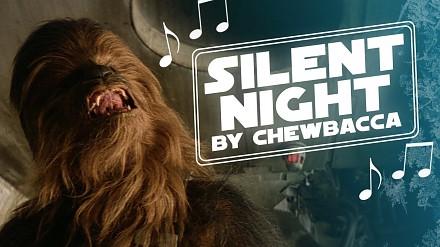 Chewbacca śpiewa kolędę Silent Night, czyli Cicha noc