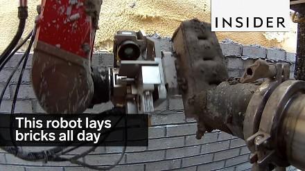 Robot do układania cegieł