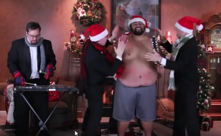 Co z tego, że po świętach - nikt nie gra na brzuchu Jingle Bells jak oni