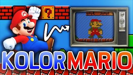 Jaki kolor ma Mario? Parę słów o barwach NES-a | arhn.edu