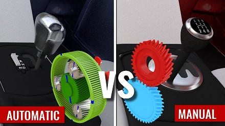 Jak działa automatyczna i manualna skrzynia biegów?