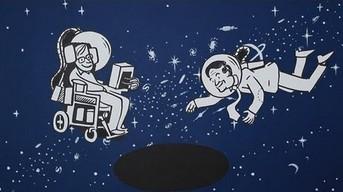 Stephen Hawking -  Czarne dziury w animacji