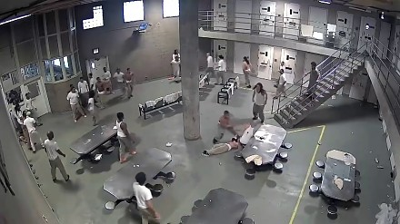 Bójka w więzieniu Chicago