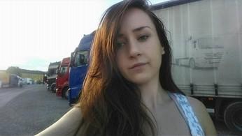Dziewczyna w ciężarówce - Olga Chrabąszcz