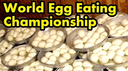 141 jajek zjedzonych w ciągu 8 minut