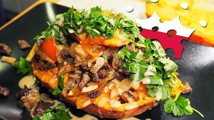 Popier***ony przepis na ziemniaka azjatyckiego || Food Emperor