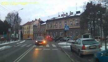 Czołówka z pijanym kierowcą