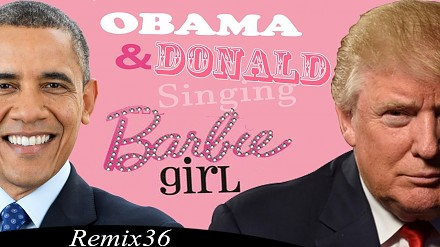 "Donald Trump i Barack Obama śpiewają ""Barbie Girl"""