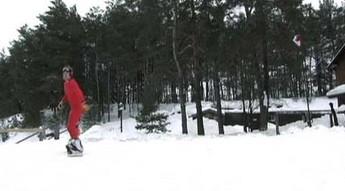 Snowboarding biegowy - mało popularny sport zimowy