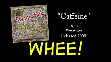 Pobudzająca piosenka o kofeinie
