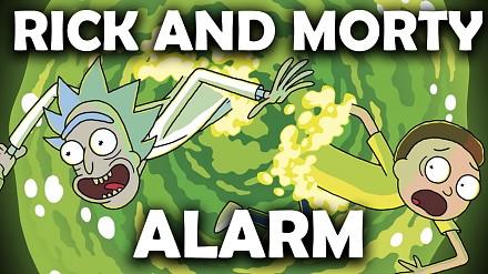 Budzik z Ricka i Mortiego - lepszy niż zwykłe budziki