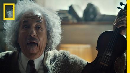 Einstein gra na skrzypcach