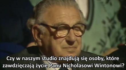 Człowiek, który uratował 669 dzieci z okupowanych przez Niemców Czech - Sir Nicholas Winton
