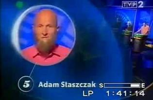 """Pan Adam - bardzo szczery uczestnik """"1 z 10"""""""
