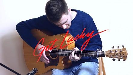 """""""Get Lucky"""" Daft Punk na gitarze! Gitarzysta z Polski"""