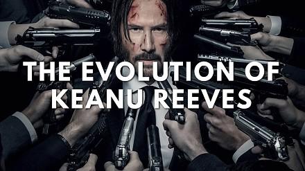 Cała aktorska kariera Keanu Reevesa