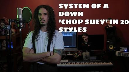 Chop Suey w 20 stylach muzycznych