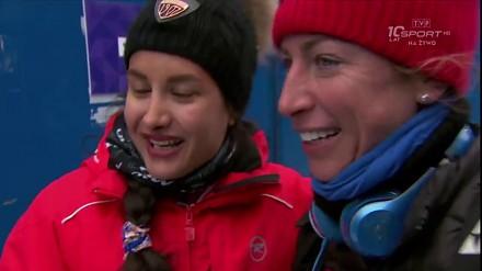 Justyna Kowalczyk spełnia marzenie irańskiej biegaczki