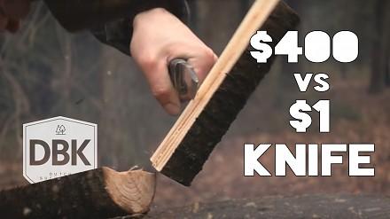 Pojedynek między nożemi za 1$, 10$ i 400$
